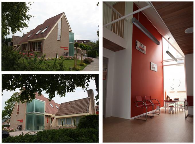 Uitbreiding bedrijfspand rinske bakels architectuur interieur wognum rinske bakels - Bureau van de uitbreiding ...